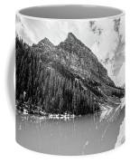 The Beauty Of Lake Louise Bw Coffee Mug