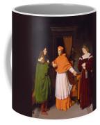 The Betrothal Of Raphael And The Niece Of Cardinal Bibbiena Coffee Mug
