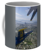 The Blue Angels Over Seattle Coffee Mug