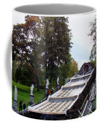 The Chessboard Hill Cascade Fountain On The Grounds Of The Peterhof Palace Coffee Mug