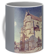 The Church At Moret Coffee Mug by Alfred Sisley