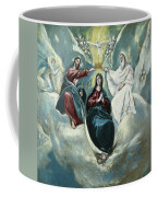 The Coronation Of The Virgin Coffee Mug