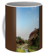 The Creek At The Yoro Waterfall In Gifu, Japan, November, 2016 Coffee Mug
