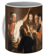 The Executioner With The Head Of John The Baptist Coffee Mug