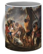 The Ferry Boat To Antwerp Coffee Mug