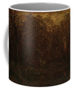 The Forest In Winter At Sunset Coffee Mug
