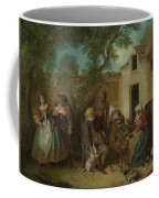 The Four Ages Of Man   Old Age Coffee Mug