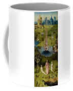 The Garden Of Earthly Delights Left Wing - Paradise Hieronymus Bosch Coffee Mug