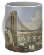 The Great East River Suspension Bridge Coffee Mug