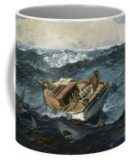The Gulf Stream Coffee Mug by Winslow Homer