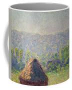 The Haystacks Coffee Mug by Claude Monet
