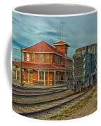 The Historic Santa Fe Railroad Station Coffee Mug