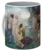 The Judgement Of Paris Coffee Mug