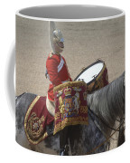 The Kettledrums Of Household Cavalry Coffee Mug by Andrew Chittock