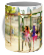 The Kids At The Playground During Day In The City Of Los Angeles Coffee Mug