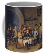 The King Drinks Coffee Mug