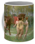 The Knights Dream Coffee Mug by Richard Mauch