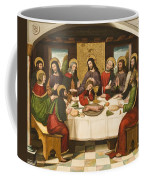 The Last Supper Coffee Mug by Master of Portillo