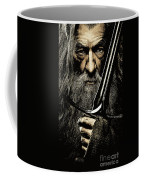 The Leader Of Mankind  - Gandalf / Ian Mckellen Coffee Mug
