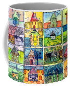 The Little Houses Coffee Mug