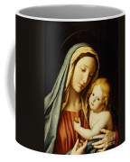 The Madonna And Child Coffee Mug