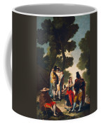 The Maja And The Cloaked Men, Or A Walk Through Andalusia Coffee Mug