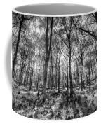 The Monochrome Forest Coffee Mug