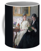 The Mother And Sister Of The Artist Coffee Mug