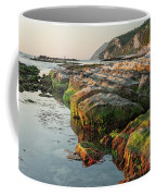 The Passetto Rocks At Sunrise, Ancona, Italy Coffee Mug