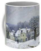 The Place Du Chenil At Marly Le Roi Coffee Mug by Alfred Sisley