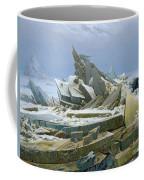 The Polar Sea Coffee Mug by Caspar David Friedrich