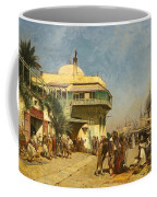 The Port Of Algiers Coffee Mug
