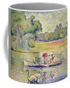 The Promenade In The Bois De Boulogne Coffee Mug