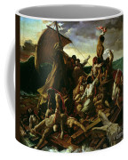 The Raft Of The Medusa Coffee Mug by Theodore Gericault