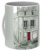 The Red French Door Coffee Mug
