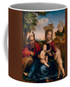 The Rest On The Flight Into Egypt With St. John The Baptist Coffee Mug