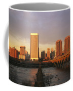 The Richmond, Virginia Skyline Coffee Mug by Medford Taylor