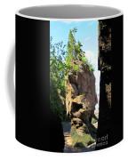 The Rocks At Hopewell Cape Coffee Mug