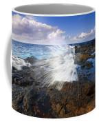 The Sea Erupts Coffee Mug by Mike  Dawson