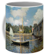 The Seine At Argenteuil Coffee Mug by Claude Monet