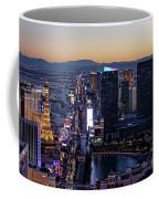 the Strip at night, Las Vegas Coffee Mug
