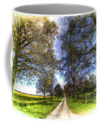 The Summer Farm Track Art Coffee Mug