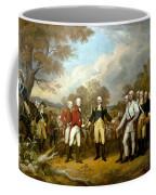 The Surrender Of General Burgoyne Coffee Mug