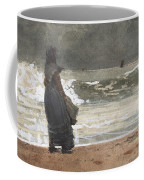The Watcher, Tynemouth Coffee Mug