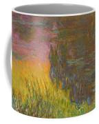 The Water Lilies, Setting Sun Coffee Mug