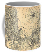 The Wave Of Time And Space Coffee Mug