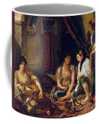The Women Of Algiers In Their Apartment Coffee Mug
