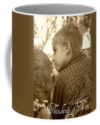 Thinking Of You Coffee Mug by Amanda Eberly-Kudamik