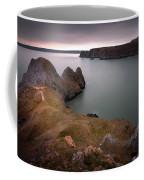 Three Cliffs Bay Gower Coffee Mug