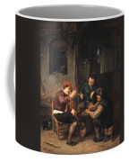Three Peasants At An Inn Coffee Mug